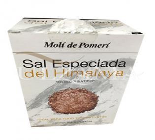 Ulzama Sal Negra Especiada Del Himalaya 250 G Condimentos